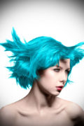 Atomic Turquoise Manic Panic Semi Permanent Hair Colour is a vibrant aqua. Deadly is the Female are UK Stockists of Manic Panic Hair Colour.