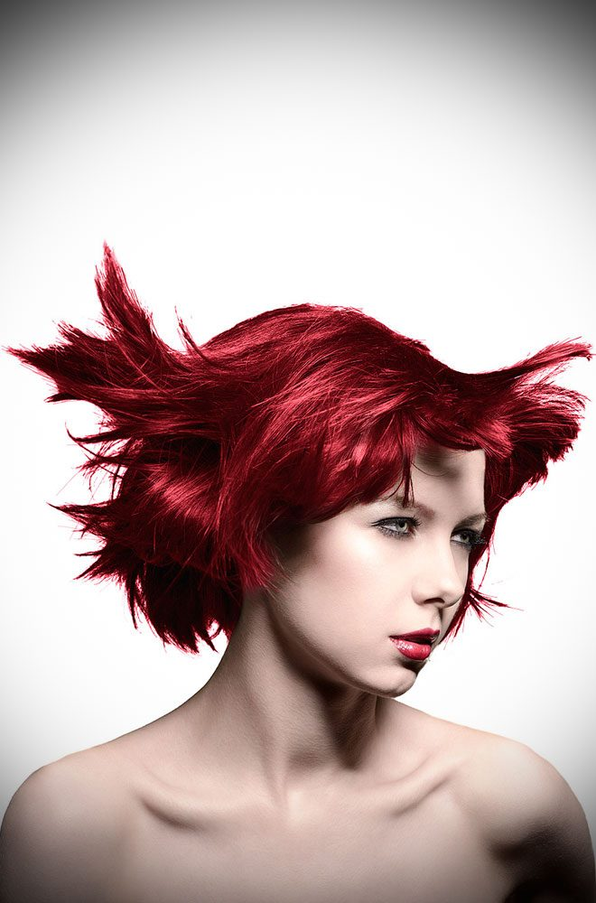 Infra Red Manic Panic Semi Permanent Hair Colour is a glorious warm red. Deadly is the Female are UK Stockists of Manic Panic Hair Colour.
