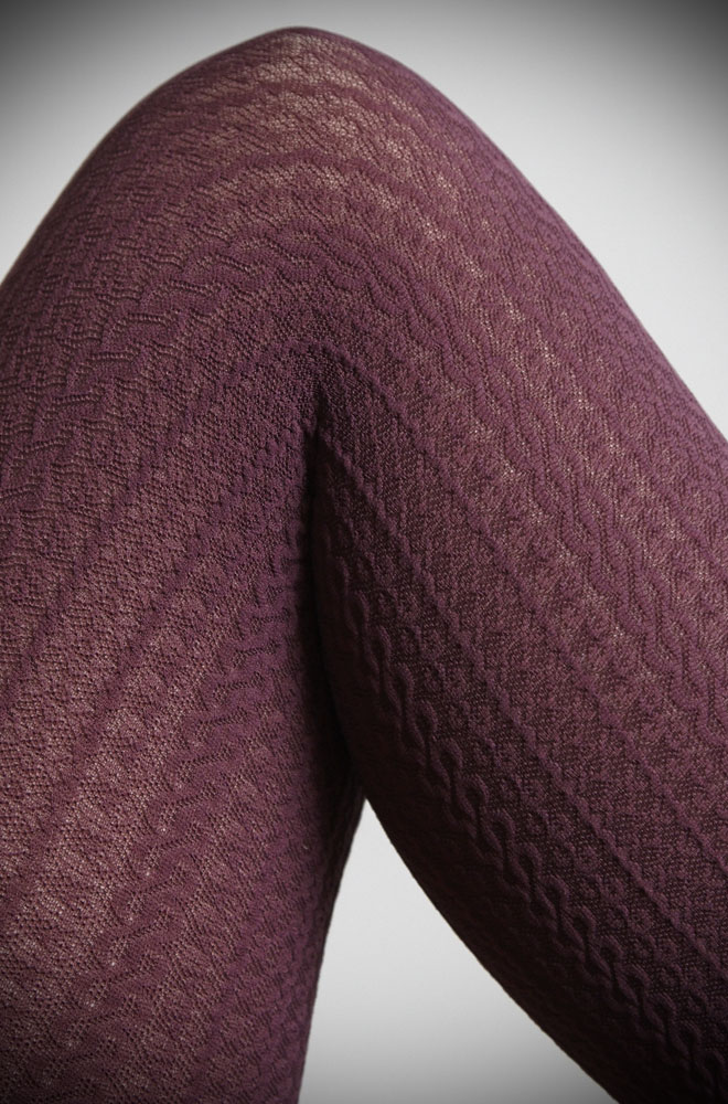 We adore these Aubergine Cable Knit Tights worn with boots, skirt and a cosy knit! A great way to continue a colour story through your outfit, especially when paired with one of our Emmy Cardigans in a coordinating colour!