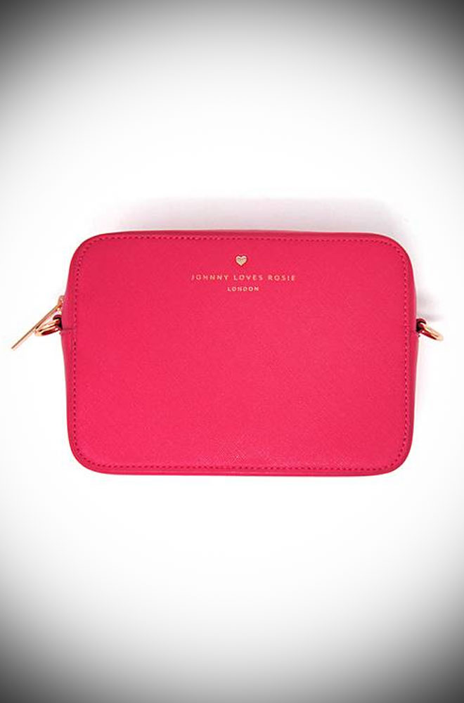 The Hot Pink Crossbody Bag Will Take You From Day To Evening In Sassy Style