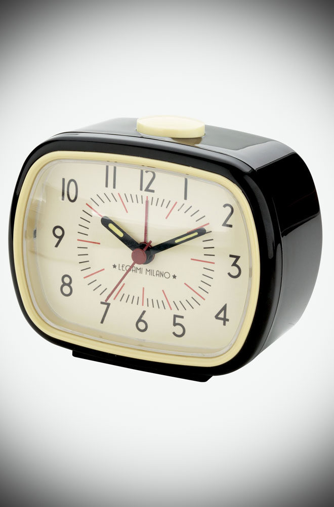 The Retro Alarm Clock is beautiful, practical and adds a touch of class to your home. A popular gift idea for a modern take on vintage style.