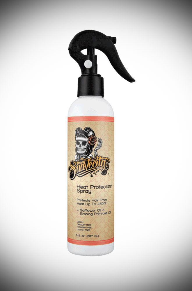 Suavecita Heat Protectant Spray - All great hairstyles start with vibrant, healthy hair. Deadly is the Female are proud UK stockist of Suavecita Pomade.