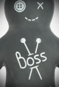 Take the Voodoo Boss Anti Stress Ball with you wherever you go. On the most stressful days, it can help you relieve tension. Ideal as a stocking filler too!