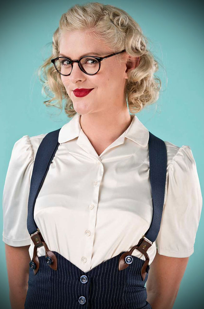 The Sassy Suspenders are the perect way to add some vintage sass to your outfit. DeadlyistheFemale.com are proud UK stockists of Emmy Design.