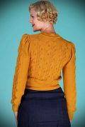 Mustard Susie Q Cardigan by Emmy Design is a beautiful wardrobe essential. Deadly is the Female are UK Stockists of Emmy Design.