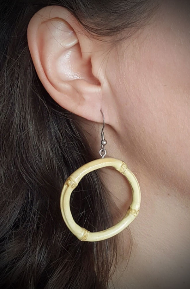 Bamboo Earrings