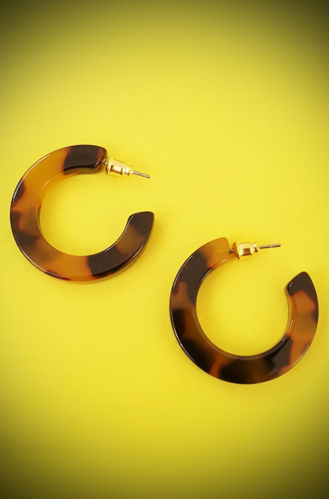 Enola Tortoiseshell Earrings