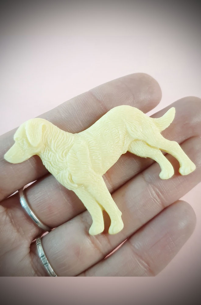Scout Novelty Labrador Brooch