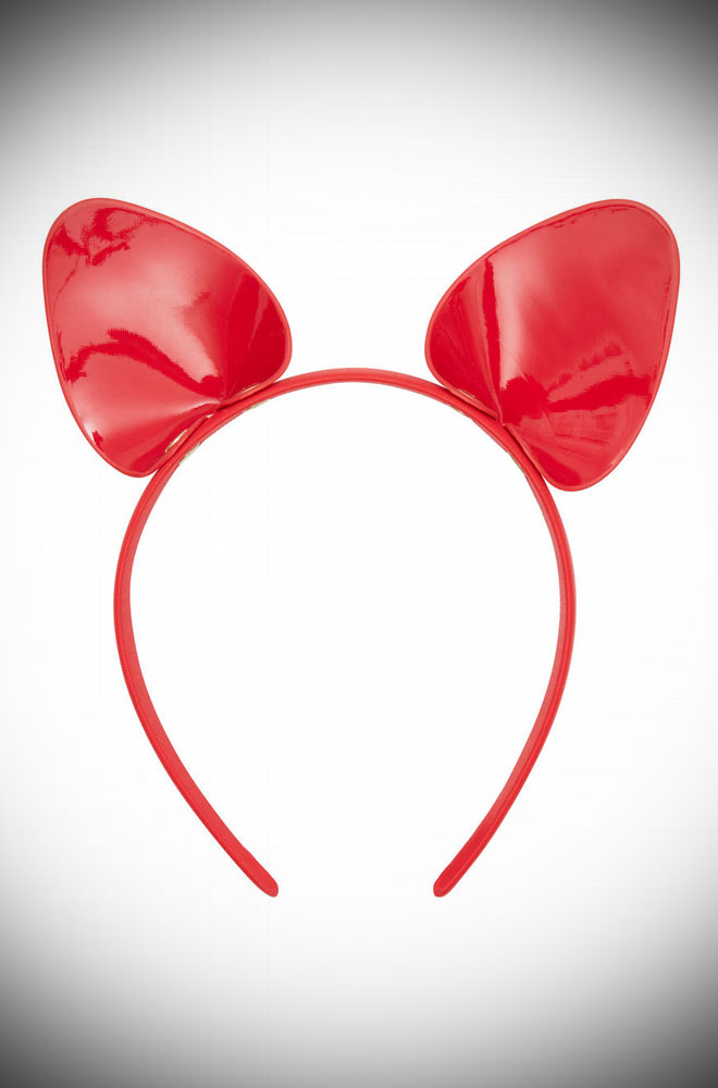 The Red Cat Ear Headband is flirty & fun, whatever the occasion! As night falls, it's time to get your prowl on in this sensual headband.